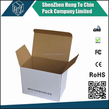 OEM China factory promotion wholesale custom professional custom small white shipping box