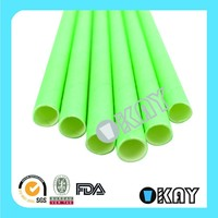 25 Solid Cool Mint Paper Straws
