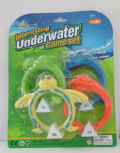 4pcs Underwater game set/swimming pool toys