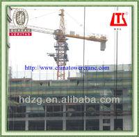QTZ63B fixed tower crane
