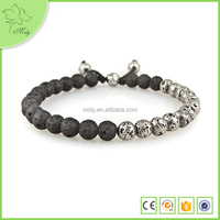 Wholesale Product Hot Sell Lava Stone Beads Bracelet