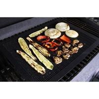 2pcs/lot non stick ptfe bbq liners grill mat teflon sheet