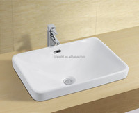 Modern Square Counter top Ceramic Basin