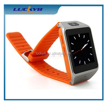 MTK6260A touch screen 3g bluetooth single sim card cheap paypal gsm fixed smart watch