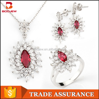 Unique silver India S925 pure silver jewelry fashion jewelry suit buy India more stone jewelry wholesale in alibaba