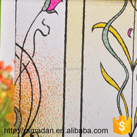 NEW ARRIVAL HOT SELL flat pvc removable electrostatic decorative static cling window film