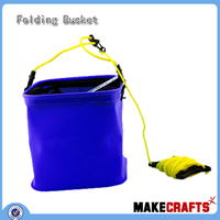 FB-D36 Super absorbent embossed 50 liter plastic bucket from China Factory fishing bucket