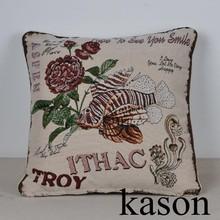 gold fish design wholesale outdoor sofa home decorative cushion cover