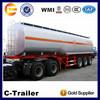China made Chengshida brand 3 axle oil tank trailer