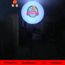 Round Balloon Types, Hot Sale PVC Outdoor Advertising/Inflatable stand Led Balloon For Event Promotion