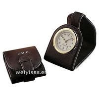 alarm clock/desk clock/bell alarm clock ,leather alarm clock, gun alarm clock C-051750