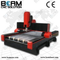 BCS1325 in stock !!! 3d stone cnc router machine for furniture pvc marble spindle motor prices