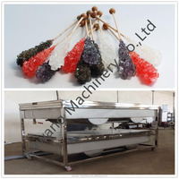crystal rock candy sugar stickes making machine