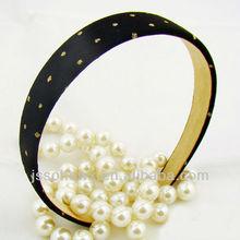 glitterati headband 25mm HAIRBAND classic black suede HAIR BAND