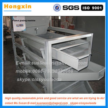 Industrial peanut grading and screening machine