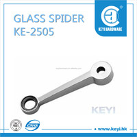 2015 HOT KE-2505 spider glass holder glass spider fitting with 1 claw spider