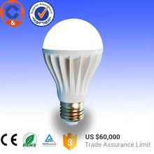 8W new style energy saving e27 7w led lighting bulb