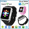 FITBO 1.3M Camera + SIM watch phone free For Iphone 6/Samsung S4 S6 Smartphone