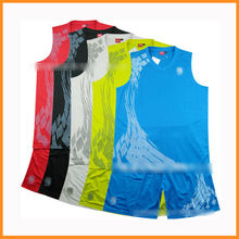 2013 Newest european basketball jerseys / jersey shirts design for basketball / wholesale reversible basketball uniforms