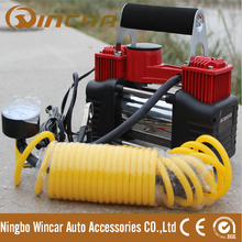 12V Auto Car Electric mini air compressor Tyre Infaltor Pump double cylinder