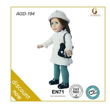 eco-friendly customzied doll toy/vinyl toys/doll full vinyl 18 inch