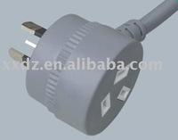Piggyback plug Power Cord