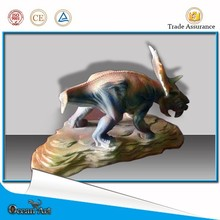 Pachyrhinosaurus handicrafts reduced small dinosaur sculpture model