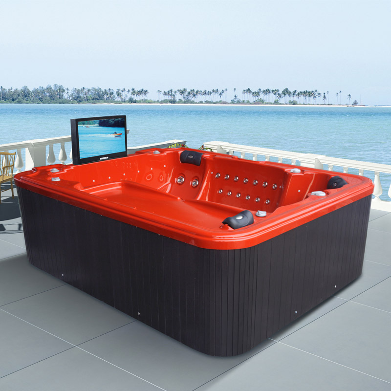 Monalisa whirlpool spa with waterproof TV M-3359