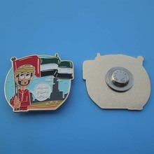 UAE special souvenirs memorial day die cut badge/emblem of arts and crafts