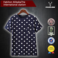 online alışveriş Hindistan toptan kadın kaliteli ucuz pamuk nokta t shirt