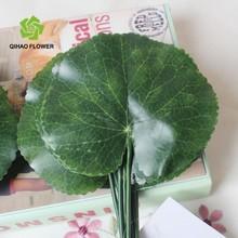 Home decoration leaf wholesale handmade artificial silk fabric leaf