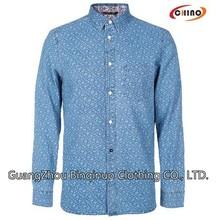 preço de fábrica personalizada novo modelo blue verifique shirts fornecedor