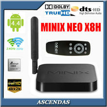 2014 New MINIX NEO X8 - H Quad Core Amlogic S802 2G/16G XBMC Google Media Player IPTV Mini PC Smart Android TV Box
