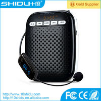 portable portable wireless pa amplifier with high quality headset microphone for teachers