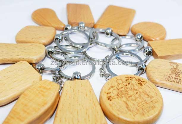 China wholesale blank/engraving wood key chain