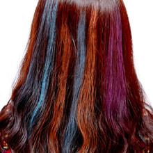 portability easy used temporary hair color chalk pen/color chalk pen for hair