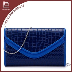 Wholesale latest design bags new PU woman lady casual handbag clutch fashion Messenger Bag