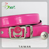 Womens pink top 10 patent wholesale belt golf accessory