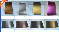 304 stainless steel sheet no 4 satin finish for construction building decoration