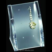 high quality clear acrylic earring dangler display