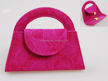 Pink Brush Cosmetic Pouch
