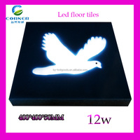 led light tile bird 400*400mm 12w IP65 made in china with rgb introcontrol