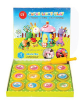 Super light weight jumping clay,kids art&craft kit
