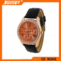 Wholesale neutral fashion genuine diamond quartz watch alloy watches