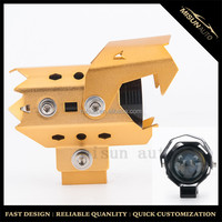 X5 LED projector headlight off road motorcycle headlight Golden Silver Black Blue colors