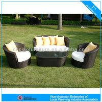 U outdoor rattan furniture comfortable sofa(6422 )