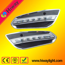 High brightness car tuning light led drl lights for volvo s60 car led daytime running lights