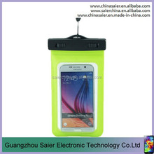 summer hot sale cell phone accessories clear PVC 5.5inch waterproof phone pouch