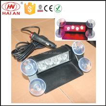 Traffic light, Alarm warning LED 4 Watt Visor Interior Strobe Lights Emergency LightbarTBF-3868 1A
