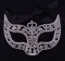 adult sex party supplies masquerade mask with crystals